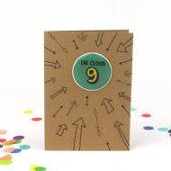 Bettie Confetti 'On Cloud 9' Card